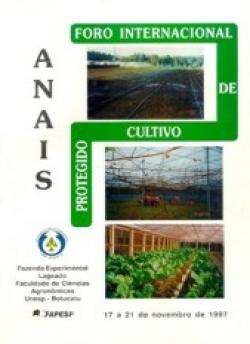 FORO INTERNACIONAL DE CULTIVO PROTEGIDO
