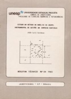 ESTUDO DO MÉTODO DA ANÁLISE DE GRUPO: INSTRUMENTAL DE GESTÃO DA EMPRESA AGRÍCOLA