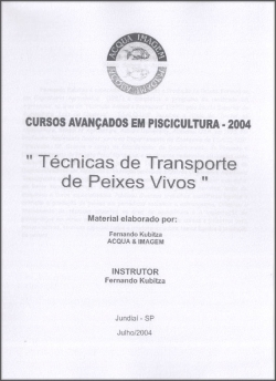 TÉCNICAS DE TRANSPORTE DE PEIXES VIVOS (Apostila)