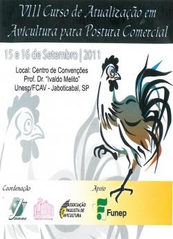 VIII Curso de Atualização em Avicultura para Postura Comercial (CD)