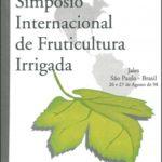 ANAIS DO SIMPÓSIO INTERNACIONAL DE FRUTICULTURA IRRIGADA