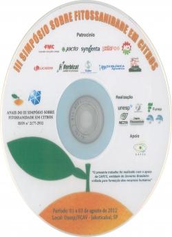 CD - III Simpósio sobre Fitossanidade em Citros