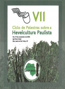 CD - VII Ciclo de Palestras sobre a Heveicultura Paulista
