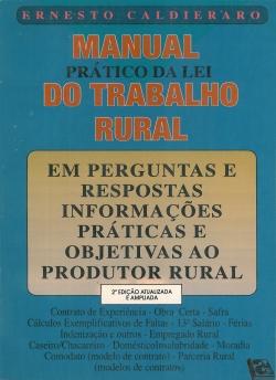 Manual Prático da Lei do Trabalho Rural