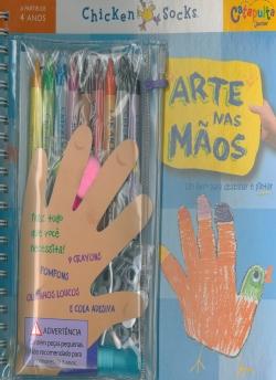 Arte nas Mãos - Um Livro para Desenhar e Pintar