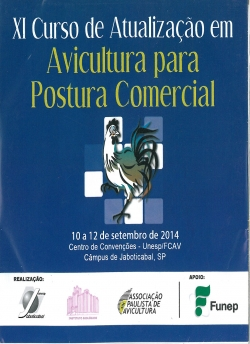 CD XI Curso de Atualização em Avicultura para Postura Comercial