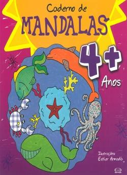 Caderno de Mandalas 4 + Anos