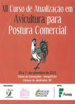 CD XII Curso de Atualização em Avicultura para Postura Comercial