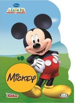 Mickey - Livro Recortado