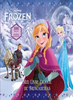 Frozen - Meu Livro Gigante de Brincadeiras