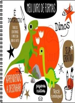 Meu Livro de Formas - Dinos