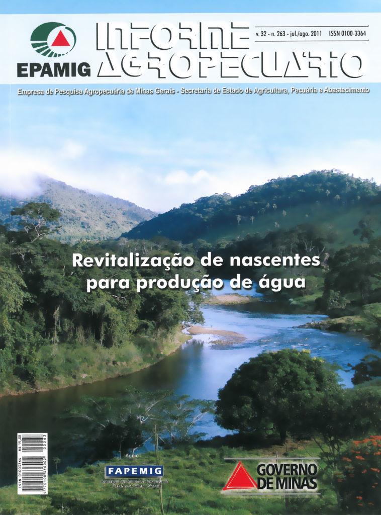 Informe Agropecuário 263 - Revitalização de nascentes para produção de água-0
