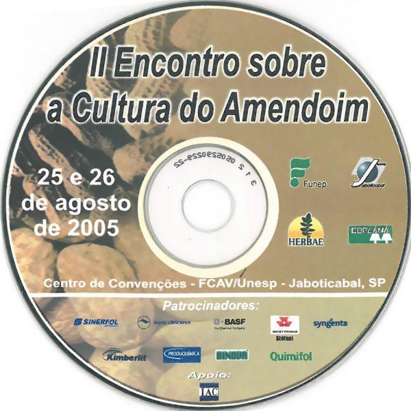 CD - II Encontro sobre a Cultura do Amendoim-2430