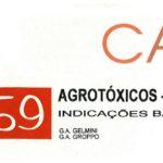 Manual 59: Agrotóxicos - Ervilha: Indicações básicas-0
